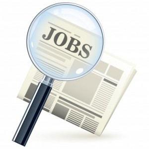 Jobs Magnifying Glass Icon
