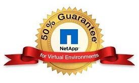 NetApp Extends 50% Virtualization Guarantee