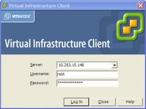 VMware Virtual Infrastructure Client