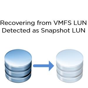 VMFS Snapshot LUN