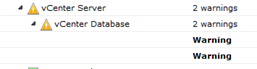 vCenter Database Performance statistics rollup is not occuring