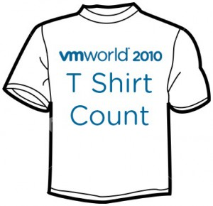 vmworld 2010 t-shirt count