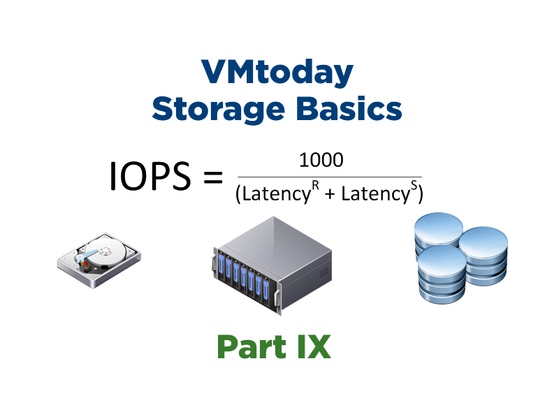 Storage Basics – Part IX: Alternate IOPS Formula