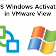 Using KMS for VMware View Windows Activation