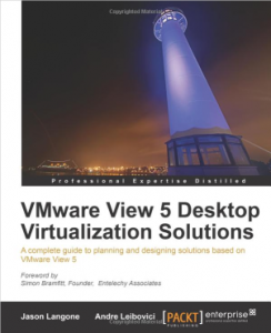 VMware View 5 Desktop Virtualization Solutions Cover