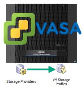 VMware vSphere VASA on VNX
