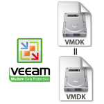 VMDK File restores using Veeam – Side-by-side access