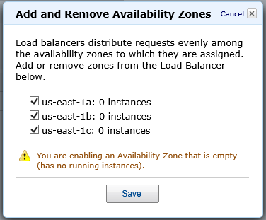 Using AWS to Autoscale WordPres Site Add Remove Availability Zones to Elastic Load Balancer