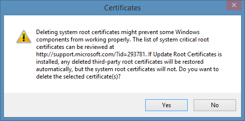 remove-cert-warning