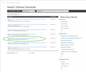 vCloud Networking and Security v5.5.4.1 download