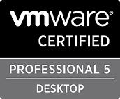 VMware Certified Professional 5 Desktop (VCP5-DT) Logo
