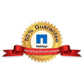 NetApp 50% Guarantee for Virtualization