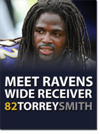 Meet Torrey Smith!