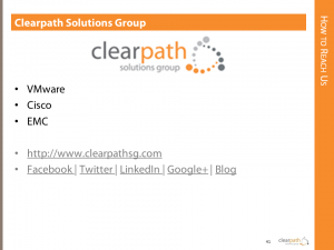 Contact Clearpath on Social Media