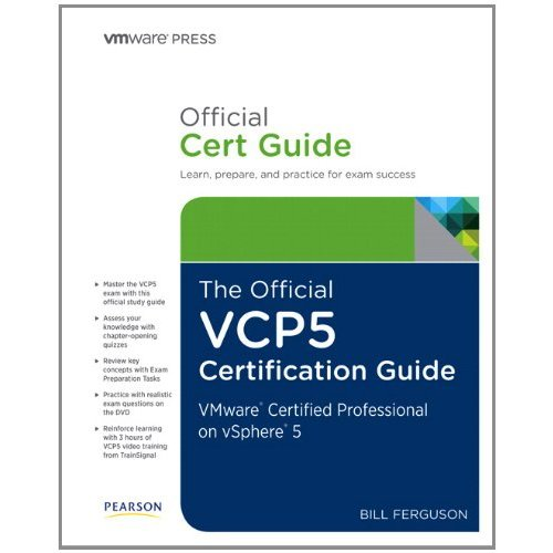 Official VCP5 Certification Guide Cover