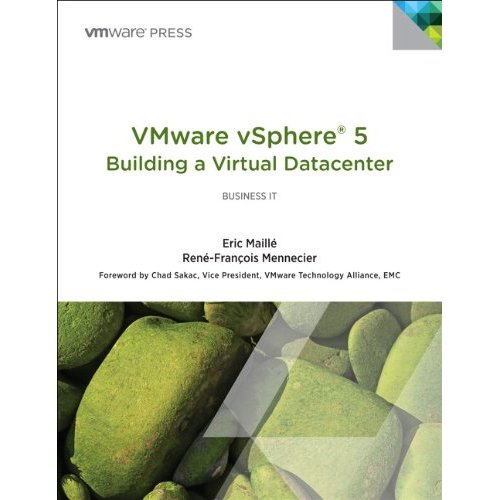 vSphere 5 Building a Virtual Datacenter Cover