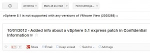 vSphere 5.1 express patch for View 5.1 compatibility