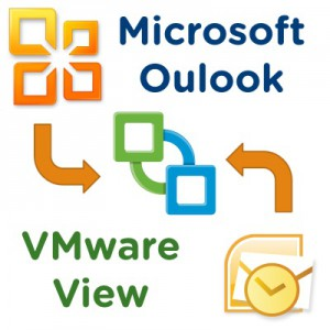 Microsoft Office Outlook in VMware View