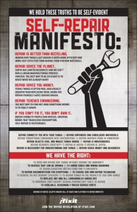 The Self Repair Manifesto