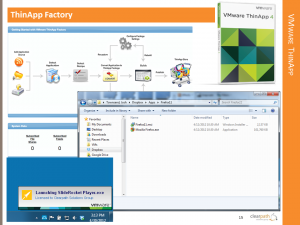 VMware ThinApp and ThinApp Factory