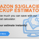 Clearpath AWS S3/Glacier Backup Estimator