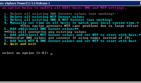 PowerCLI Script to Set DNS and NTP on ESXi Hosts